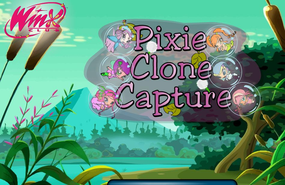 Winx Club Pixie Clone Capture Game
